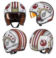 these star wars motorcycle helmets will protect you on trench runs