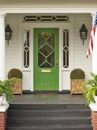 copy the charming curb appeal green front doorsglass front doorpainted