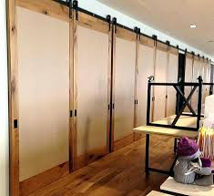 sliding barn door for closets double closet throughout doors ideas 19