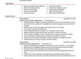 Law Enforcement Resume Top8lawenforcementofficerresumesamples