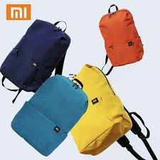 Online Shop <b>Original Xiaomi</b> Mi <b>Backpack</b> 10L Bag 8 Colors 165g ...