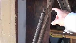 garage door springDangerous Garage Door Springs Exposed  YouTube