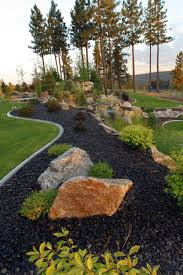 Small Picture Representation of Natural Large Rocks For Landscaping Exteriors