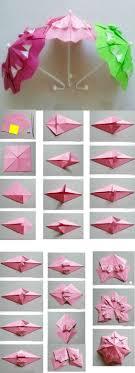 origami diy step by step diy origami paper umbrella tutorial step step step step ideas