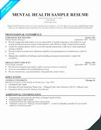 Mental Health Counseling Cover Letter Elegant Admissions Counselor
