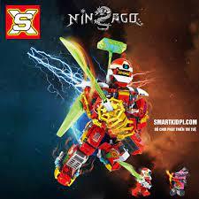 338 CHI TIẾT] - BỘ ĐỒ CHƠI XẾP HÌNH LEGO NINJAGO giá cạnh tranh