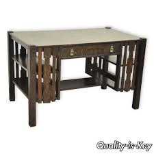 Bear Coffee Table Details About Mission Arts Crafts Tiger Oak Bookcase Side