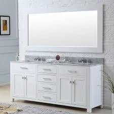 60 double sink bathroom vanities. Water Creation Madison 60-inch Solid White Double Sink Bathroom Vanity 60 Vanities