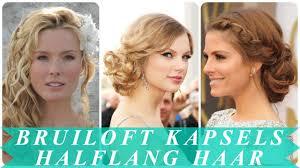 Nieuwe Kapsel Bruiloft Gast Halflang Haar