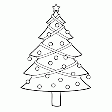 Mooie Kerstbomen Kleurplaten Leuk Voor Kids