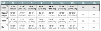 Stormtech Size Chart Mens Stormtech H2x Dry Layering Tee