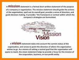 Sample Vision Statement Ultramodern Pictures Examples Of Personal