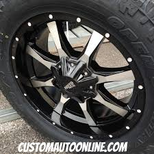 moto metal 970. 20x9 moto metal 970 black and machined wheel - lt295/55r20 toyo open country at2 0