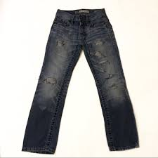 Bke Jeans Size Chart Clothing Bke Aiden Straight 24xs Boys Distressed Jeans 6 7
