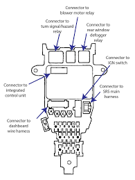 1997 honda accord ex fuse box diagram wiring diagram