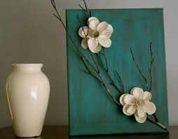 >easy piece of wall art painted canvas stick paper flowers for  easy piece of wall art painted canvas stick paper flowers for master bedroom