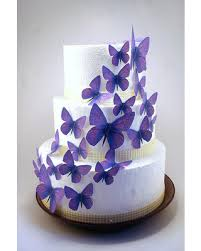 Cant Miss Deals On Edible Butterfly Cake Decorations Light Purple