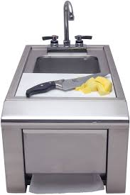 Outdoor Kitchen Sink Station Prep Hand Wash Sink Extend Your Preparation Area With Ease