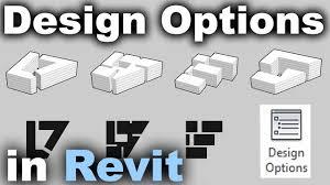 How To Do Design Options In Revit Design Options In Revit Tutorial