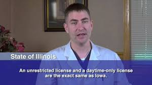Vision Requirements For A Drivers License In Ia And Il