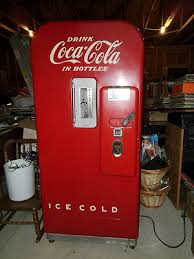 Vintage Coca Cola Vending Machines For Sale Magnificent Cocacola Coke Vending Machine V 48 Original Soda Machine Antique
