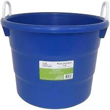 10 gallon bucket get quotations a mainstays heavy duty juvenile rope tub buckets n63