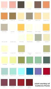 California Paint Color Chart California Paint Color Chart Smartmarathontraining Com