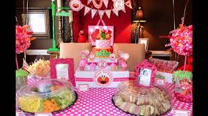 Small Picture Second birthday party decorations at home ideas YouTube
