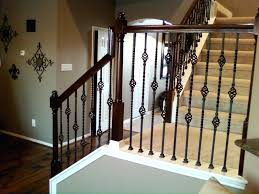 Wrought Iron Stair Railing Cost Rod Staircase Spindles For Stairs Canada. Wrought  Iron Spindles For Stairs Lowes Hand Railing Designs Rod Balusters Decks.