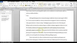 Mla In Text Citation For Website Mla In Text Citations Using Word 2010 Youtube