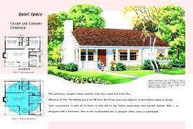1950s house plan house plans post war home to living museums council economy building modern bungalow 1950s house plan
