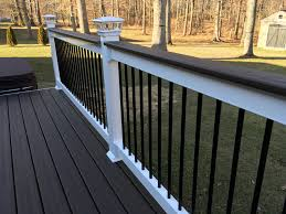 Trex Deck Post Cap Lighting Deck Railings Trex Deck Composite Deck Solar Light Post