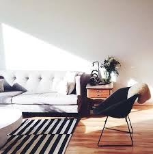 blue white striped rug and 5x7 black