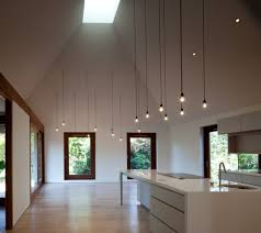 high ceiling lighting designs