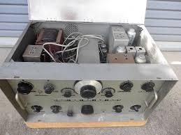 「真空管アマチュア無線機写真」の画像検索結果