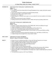 Netbackup Administrator Resume Samples Velvet Jobs