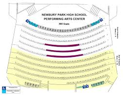Hillcrest Center For The Arts Seating Charts