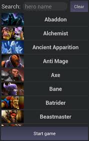 easy pick for dota 2 android development and hacking