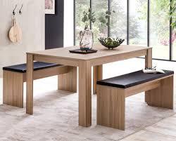 Esszimmer Set Sonoma Eiche Esstisch Mit 2 Bänken Holz Modern Essgruppe Tischgruppe Küche Klein Esszimmergarnitur Sitzgruppe Komplett