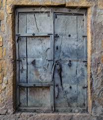 old wooden door vine background stock photo 16712912
