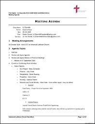 Agenda Template Microsoft Word Template Meeting Agenda Template Word 24 12