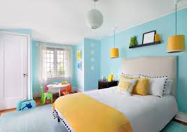 bedroom colors blue. view in gallery yellow and blue make for a stylish soothing combination bedroom colors z