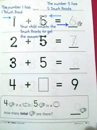 Free Printable Touch Math Chart Printable Touch Math Akasharyans Com