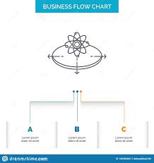 Conceptual Flow Chart Business Concept Idea Innovation Light Business Flow