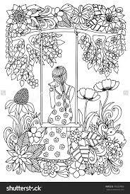 Free Coloring Book 9 Beautiful Pages To Color L L L L L L L