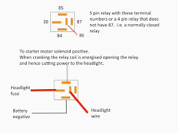 bosch 5 pin relay spotlight wiring diagram wiring diagram simonand how to wire a relay switch diagram at 4 Wire Relay Diagram