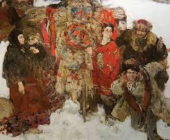 Душа на холсте Николай Блохин Волшебная сила искусства Масленница Дипломная работа