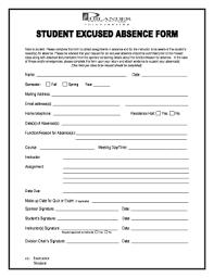 Fillable Online Philander Student Absence Form Pdf Philander Smith