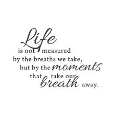 Moments Quotes Stunning Wall Quotes Wall Decals Moments That Take Our Breath Away