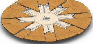 attractive expanding round table plans expandable table plans diy farmhouse table with extension leaves